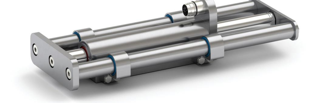 Linear Modules with a hygienic and corrosion-resistant design